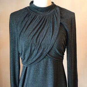 Spense dark gray shirt